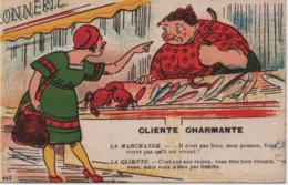 HUMOUR-Cliente Charmante...colorisé - 443 - Humour