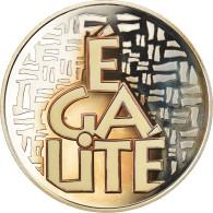 Monnaie, France, Egalité, 6.55957 Francs, 2001, Paris, Proof, FDC, Argent - Altri