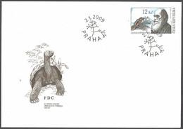 Czech Republic - 200th Birthday Of Charles Darwin, FDC, 2009 - Otros