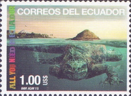 Ecuador - Crocodile, Stamp, MNH, 2015 - Sonstige