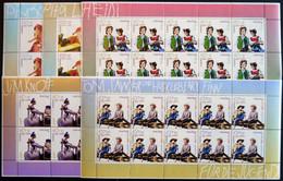 BUNDESREPUBLIK 2190-94KB **, 2001, Figuren Aus Kinder- Und Jugendbüchern Im Kleinbogensatz, Postfrisch, Pracht, Mi. 130. - Unused Stamps