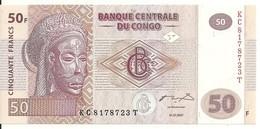 CONGO 50 FRANCS 2007 UNC P 97 - Sin Clasificación