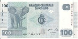 CONGO 100 FRANCS 2007 UNC P 98 - Sin Clasificación