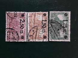 ALLEMAGNE EMPIRE 116/118 Oblitérés - Used Stamps