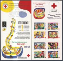 FRANCE - Carnet - BC1422 - 2017 - Croce Rossa