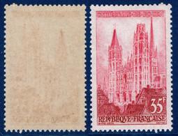 YVERT 1129 N** MNH - Cathédrale De ROUEN - SCAN RECTO-VERSO = SANSURPRISE - Nuovi