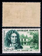 YVERT 1259 N** - Nicolas BOILEAU Et Sa Maison à AUTEUIL - SCAN RECTO-VERSO = SANSURPRISE - Unused Stamps