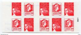 RC 12818 FRANCE CARNET N° 1512 LUQUET + MARIANNE D'ALGER COMPOSITION VARIABLE NEUF ** TB - Definitives