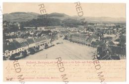 RO 20 - 18459 MEDIAS, Sibiu, Market, Litho, Romania - Old Postcard - Used - 1899 - Rumania