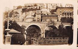 CPA - Monaco, Le Pont De Sainte Dévote, Carte Photo - Monte-Carlo