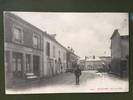 WASIGNY Rue Du Pont, Cachet De Wasigny - Otros Municipios