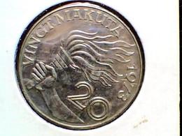 Zaïre 20 Makuta 1973 KM 8 - Zaire (1971-97)