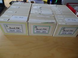 Bund 3 Kartons FDC Aus 1969-1991 (16209) - FDC: Sobres