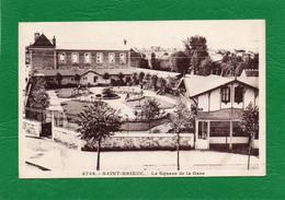22 SAINT-BRIEUC N°7337 LE SQUARE DE LA GARE FOYER DU SOLDATCPA Année  1933  N° 8756 - Saint-Brieuc
