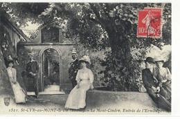 CPA   ST - CYR Au MONT - D'OR Le Mont - Cindre  , Entrée De L'Ermitage  N° 1521 - Altri Comuni