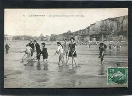 CPA - LE TREPORT - Les Petits Pêcheurs De Crevettes - Le Treport