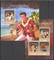 ST400 2016 SIERRA LEONE MUSIC LEGEND ELVIS PRESLEY KB+BL MNH - Elvis Presley