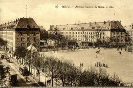 CPA - METZ - ANCIENNE CASERNE DU GENIE - Metz