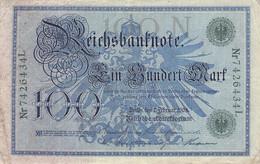 100 Mark Reichsbanknote VG/G (IV) - 100 Mark