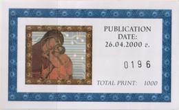"""Europa CEPT - 2000 Bulgaria """"I Giovani E Il Futuro"""" Libretto Di 2 Serie MNH** (rif. 4453/54 Cat. Unificato) - 2000"""
