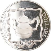 Monnaie, BRITISH VIRGIN ISLANDS, Elizabeth II, Teapot, 20 Dollars, 1985 - British Virgin Islands