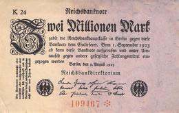 2 Mio Mark Reichsbanknote VF/F (III) - 2 Millionen Mark