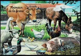 Frankreich 2004,Michel# Block 37, Yt# BF 69 O Animaux De La Farme - Unclassified