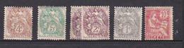 Ou015 CRETE 1902-1903 N, - Unused Stamps