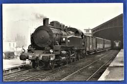 PHOTO ORIGINALE - Locomotive 141 TB 407 - Eisenbahnen