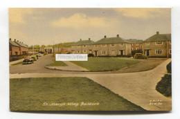 Baldock - St Mary's Way, Houses, Cars - C1950's Hertfordshire Postcard - Hertfordshire