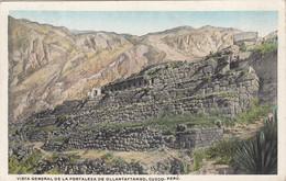 Pérou - Cuzco - Vista General De La Fortaleza De Ollantaytambo - Peru