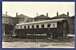 PHOTO ORIGINALE - Wagon - ROTONDE DE LONGUEVILLE (77) - Eisenbahnen