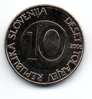 Slovénie -  10 Tolarjev 2006 -  UNC - Slovenia