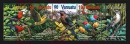 Vanuatu 2001 Birds Strip Y.T. 1101/1105 (0) - Sonstige