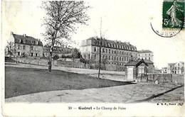 23 GUERET . LE CHAMP DE FOIRE . (  Le  POIDS DE VILLE,  POIDS PUBLIC  ) - Guéret