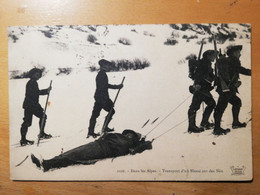 Transport D Un Blessé Sur Des Skis(chasseurs Alpins) - Zonder Classificatie
