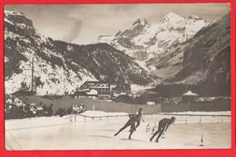 SWITZERLAND   KANDERSTEG    ICE SKATING RACE RP Pu 1911 - BE Berne