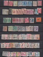 Ou024 INDOCHINE  Lot De Timbres N*, N,  (O) 2 Scans - Unclassified