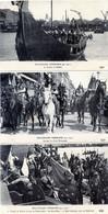 76  ROUEN LOT DE 36 CPA SUR LES FETES DU MILLENAIRE NORMAND  DE 1911 - Rouen