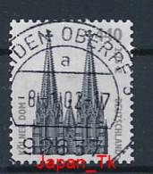 GERMANY  Mi. Nr. 2206  Freimarken: Sehenswürdigkeiten - Nummer 500 -  Siehe Scan - Used - Rollenmarken