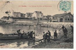 CPA   TOULON   Le Halage Du Filet Au Mourillon  N° 199 - Toulon