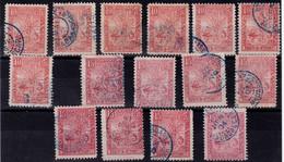 ✔️ Madagascar 1903 - Collection Vrac Sur Carte. Tous Etats. - Bon Cote Maury - Depart 1 Euro - Verzamelingen