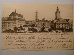 Lwow Lemberg.Plac Sw.Ducha.R.&J.D.6880gse.1902.Poland.Ukraine - Ukraine