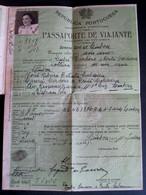 Passport Passeport Reisepass Pasaporte Passaporte Passporto Of PORTUGAL  - PASSAPORTE 1947 - Documentos Históricos