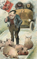 FERMIER ET SES COCHONS SERIE N°391 IV - Schweine