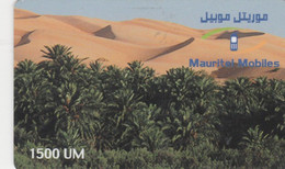 Mauritania, MR-MAU-NAT-0016, 1500 UM,  Désert - 2 (01-12-2001), 2 Scans. - Mauritanië