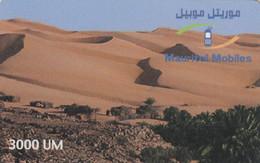 Mauritania, MR-MAU-NAT-0017A, Sand Dunes - 3000UM  (01-12-2001), 2 Scans. - Mauritanië