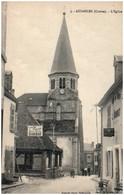 23 AUZANCES - L'église - Auzances