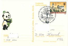 957  WWF, Ours Panda: Oblit. Temporaire D'Autriche, 1988 - Panda Bear, WWF Austria Anniversary - Covers & Documents