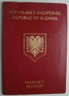 Albania Expired Passport Reisepass Passeport #3 - Historical Documents